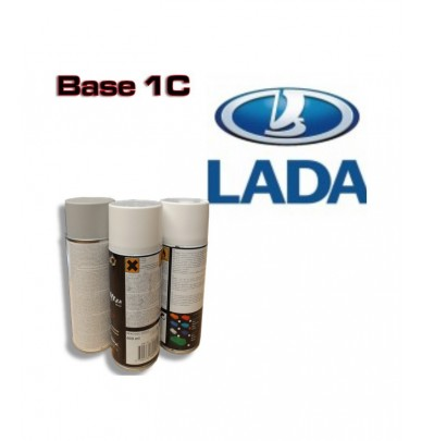 LADA Car Paint in Spray Can -1K Basecoat, All Auto Colour Codes