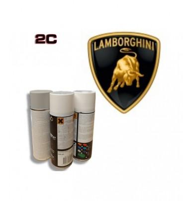 LAMBORGHINI 2K paint high gloss Spray Can – For All Auto Colour Codes