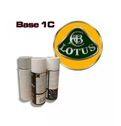 LOTUS Car Paint in Spray Can -1K Basecoat, All Auto Colour Codes