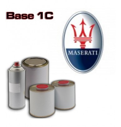 MASERATI 1K Basecoat - 250ml to 5L Pots - All Auto Colour Codes
