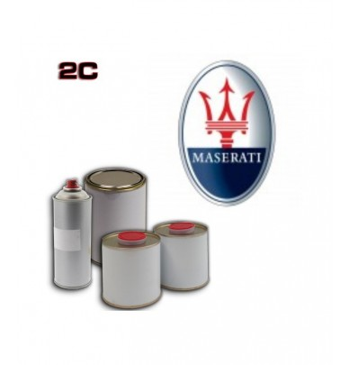 MASERATI 2K POLYURETHANE PAINT in Pot – For All Auto Colour Codes