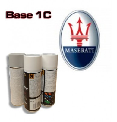 MASERATI Car Paint in Spray Can -1K Basecoat, All Auto Colour Codes