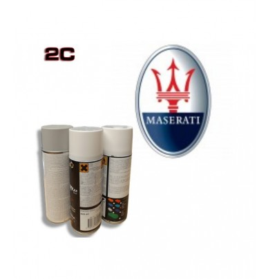 MASERATI 2K paint high gloss Spray Can – For All Auto Colour Codes