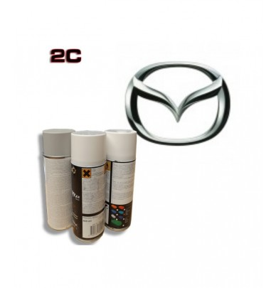 MAZDA 2K paint high gloss Spray Can – For All Auto Colour Codes