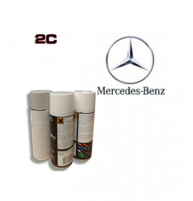 MERCEDES 2K paint high gloss Spray Can – For All Auto Colour Codes