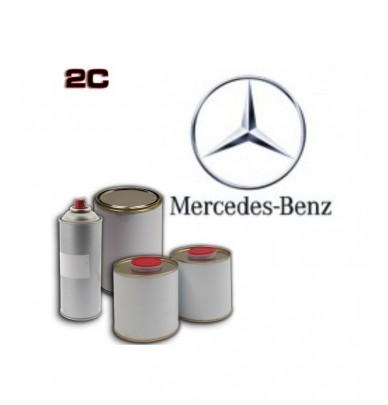 MERCEDES 2K POLYURETHANE PAINT in Pot – For All Auto Colour Codes