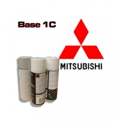 MITSUBISHI Car Paint in Spray Can -1K Basecoat, All Auto Colour Codes
