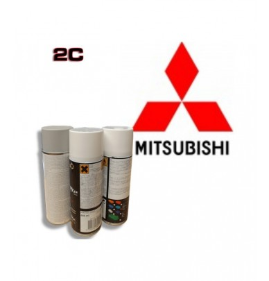 MITSUBISHI 2K paint high gloss Spray Can – For All Auto Colour Codes