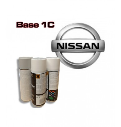 NISSAN Car Paint in Spray Can -1K Basecoat, All Auto Colour Codes