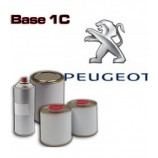 PEUGEOT 1K Basecoat - 250ml to 5L Pots - All Auto Colour Codes