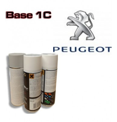 PEUGEOT Car Paint in Spray Can -1K Basecoat, All Auto Colour Codes