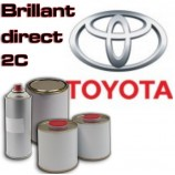 7080 UHS 2K PAINT FOR CAR BODYWORK - Toyota colour tone