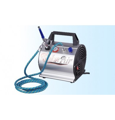 Complete Kit - Compressor, airbrush, air hose