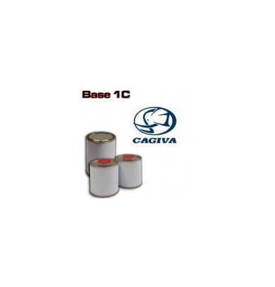 CAGIVA MOTORCYCLE PAINT All colour codes - 1K Basecoat for Spray Gun