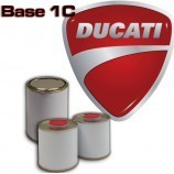 DUCATI MOTORCYCLE PAINT All colour codes - 1K Basecoat for Spray Gun