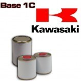 KAWASAKI MOTORCYCLE PAINT All colour codes - 1K Basecoat for Spray Gun