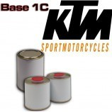 KTM MOTORCYCLE PAINT - 1K Basecoat in Spray Can
