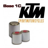 KTM MOTORCYCLE PAINT All colour codes - 1K Basecoat for Spray Gun