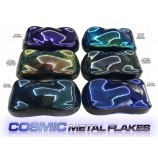 Transparent Cosmic Flakes - 5 colours