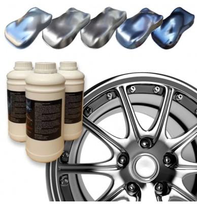 Metallic Epoxy Wheel Rim Paint