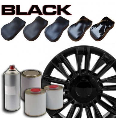 Epoxy black paint for Wheel Rims