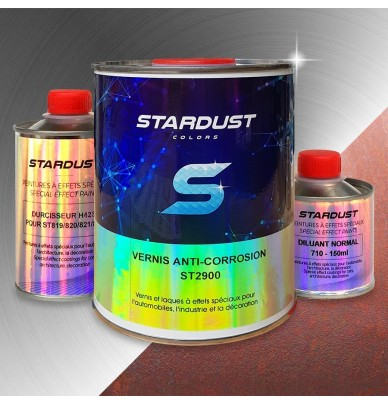 Anti-rust glossy topcoat for all metals ST2900