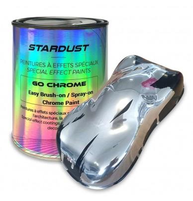 Easy Chrome Paint Brush On Spray On Mirror Effect Chrome Paints