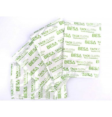 BESA TackCloth Dust Wipes - Pack of 10