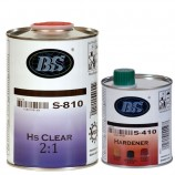 1L HS clearcoat + 0.5L hardener normal+ 125ml thinner normal