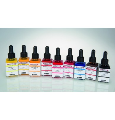 the Candy Schmincke: 9 ultra fine and intense Aero Color inks