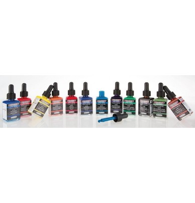 The 12 opaque colors Total Cover AERO COLOR Professional