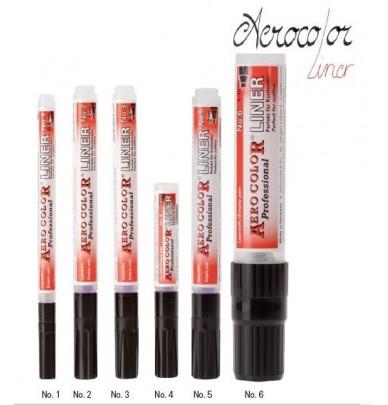Liner Pen Aerocolors empty 0,8mm 1,0mm 2mm
