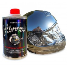 Chrome spray paint- professional spraygun version