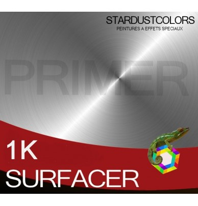 Fast grey one-component surfacing primer