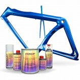 Complete pearlescent paint kit for bike