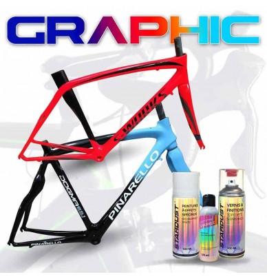 Graphic Design bike paint kit