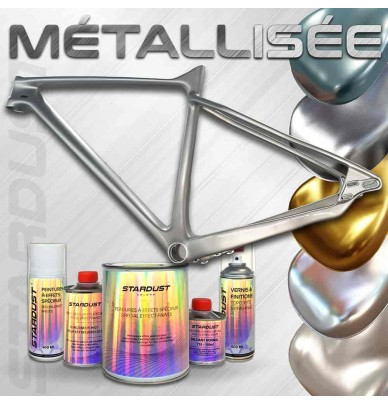 metallic bike paint kit - 23 colors to choose from