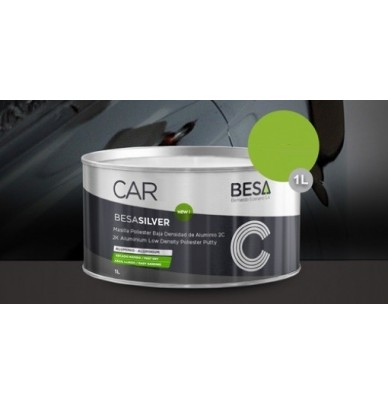 Bi-component Polyester Aluminium Putty for denting and car repair