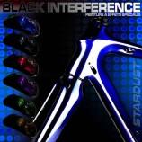 Black Interference bike paint kit - 6 colors