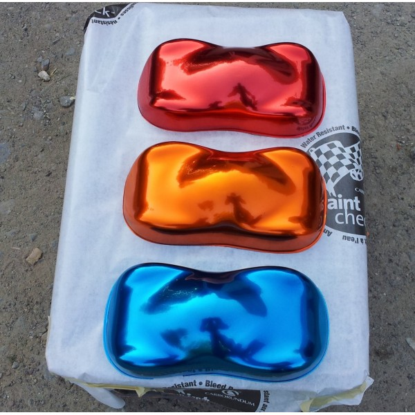Motorcycle Kit Candy Chrome Paint