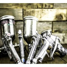 Tools and accessories for painting bikes