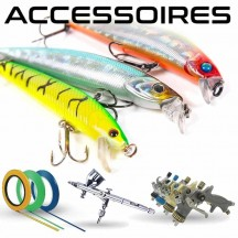 Accessories and consumables for lure painting