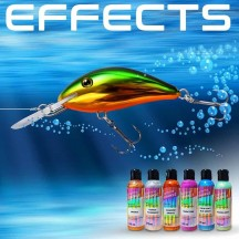 Special effects and additives for painting decoys
