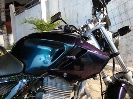 Moto Chameleon paint